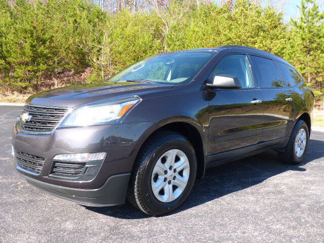 2017 Chevrolet Traverse for sale at RUSTY WALLACE KIA OF KNOXVILLE in Knoxville TN