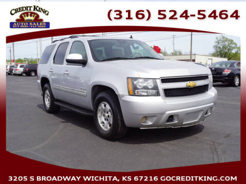 2014 Chevrolet Tahoe for sale at Credit King Auto Sales in Wichita KS