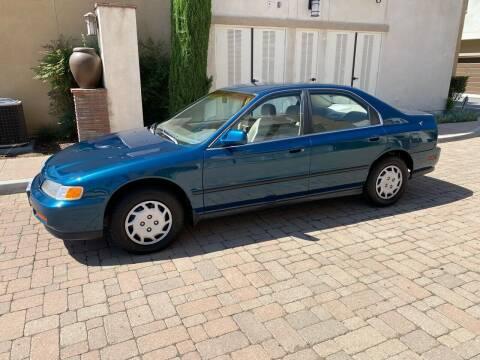 1994 Honda Accord for sale at California Motor Cars in Covina CA