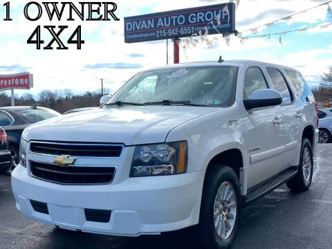2008 Chevrolet Tahoe for sale at Divan Auto Group in Feasterville Trevose PA