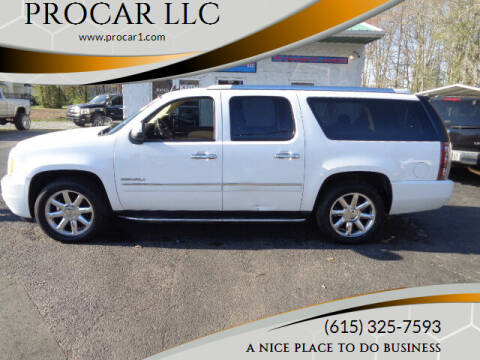 2010 GMC Yukon XL for sale at PROCAR LLC in Portland TN