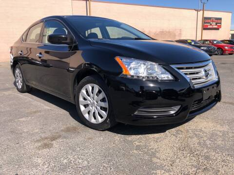 2015 Nissan Sentra for sale at Cars 2 Go in Clovis CA