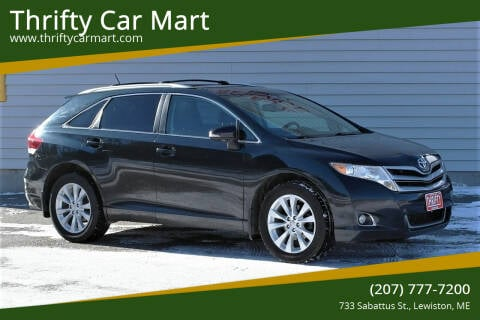 2013 Toyota Venza for sale at Thrifty Car Mart in Lewiston ME