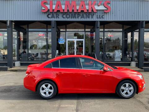 2016 Chevrolet Cruze Limited for sale at Siamak's Car Company llc in Salem OR