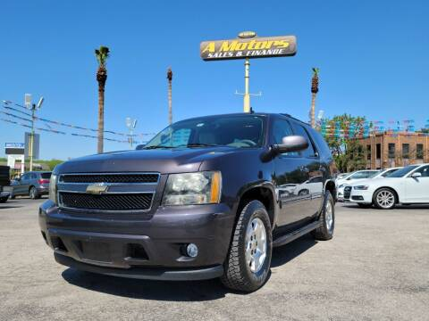 2010 Chevrolet Tahoe for sale at A MOTORS SALES AND FINANCE - 6226 San Pedro Lot in San Antonio TX