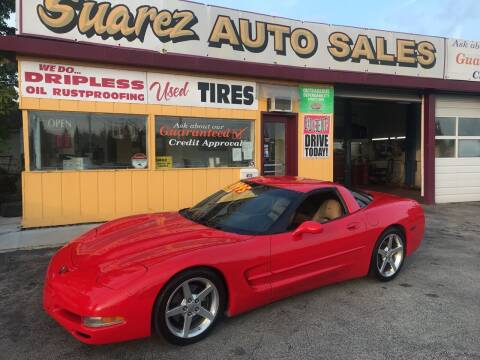 1998 Chevrolet Corvette for sale at Suarez Auto Sales in Port Huron MI