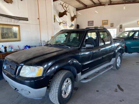 2001 Ford Explorer Sport Trac for sale at PYRAMID MOTORS - Pueblo Lot in Pueblo CO