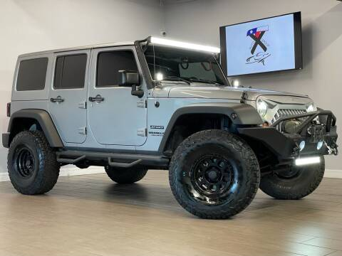 2015 Jeep Wrangler Unlimited for sale at TX Auto Group in Houston TX