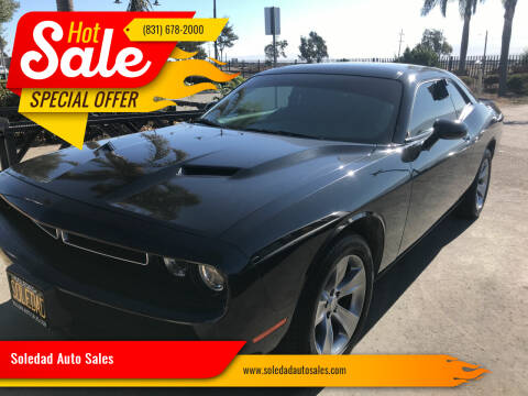 2018 Dodge Challenger for sale at Soledad Auto Sales in Soledad CA