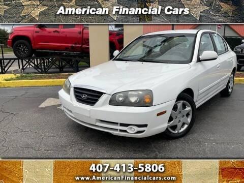 2004 Hyundai Elantra for sale at American Financial Cars in Orlando FL