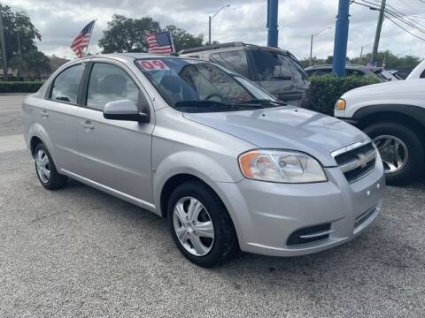 2009 Chevrolet Aveo for sale at AUTO PROVIDER in Fort Lauderdale FL