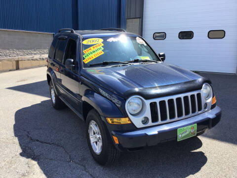 2007 Jeep Liberty for sale at Adams Street Motor Company LLC in Dorchester MA