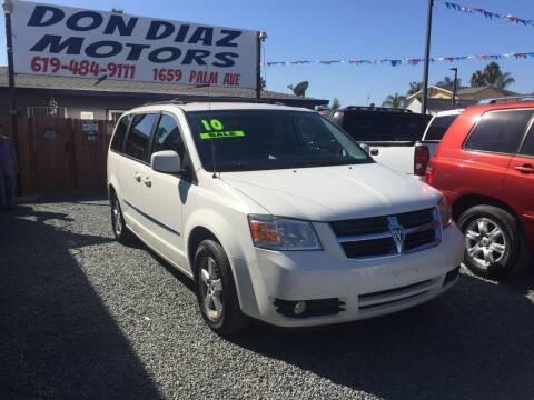 2010 Dodge Grand Caravan for sale at DON DIAZ MOTORS in San Diego CA