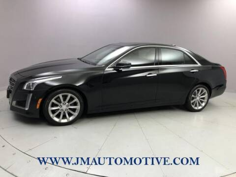 2016 Cadillac CTS for sale at J & M Automotive in Naugatuck CT
