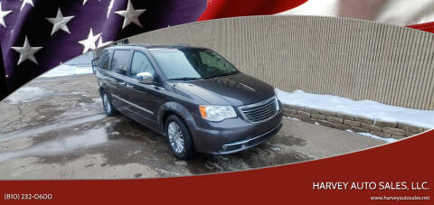 2015 Chrysler Town and Country for sale at Harvey Auto Sales, LLC. in Flint MI
