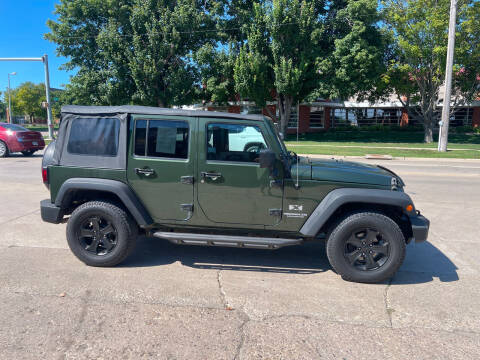 2008 Jeep Wrangler Unlimited for sale at Mulder Auto Tire and Lube in Orange City IA