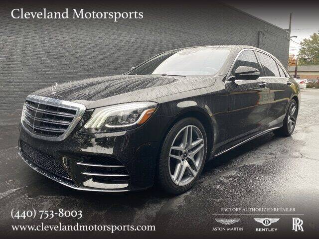 2019 Mercedes-Benz S-Class for sale at Drive Options in North Olmsted OH