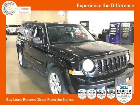 2013 Jeep Patriot for sale at Dallas Auto Finance in Dallas TX