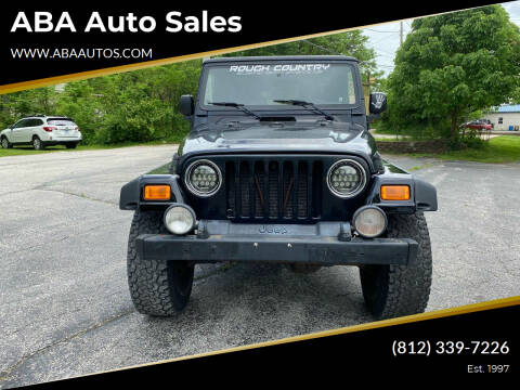 2005 Jeep Wrangler for sale at ABA Auto Sales in Bloomington IN