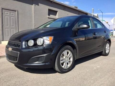 2013 Chevrolet Sonic for sale at Moving Rides in El Paso TX