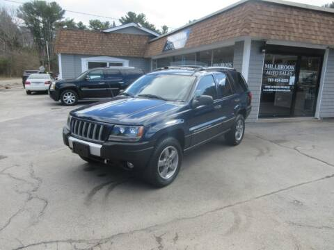 2004 Jeep Grand Cherokee for sale at Millbrook Auto Sales in Duxbury MA