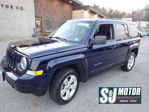 2014 Jeep Patriot for sale at S & J Motor Co Inc. in Merrimack NH
