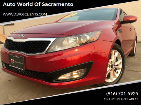 2011 Kia Optima for sale at Auto World of Sacramento Stockton Blvd in Sacramento CA