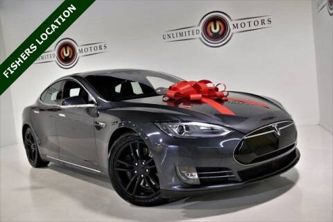 2015 Tesla Model S for sale at Unlimited Motors in Fishers IN