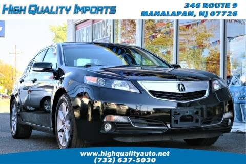 2012 Acura TL for sale at High Quality Imports in Manalapan NJ