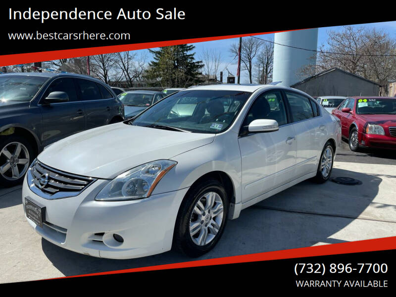 2010 Nissan Altima for sale at Independence Auto Sale in Bordentown NJ