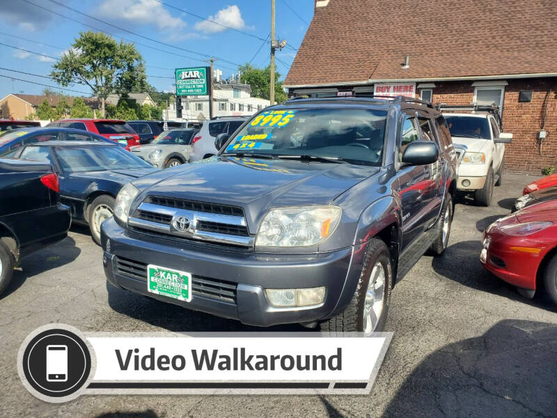 2005 Toyota 4Runner for sale at Kar Connection in Little Ferry NJ