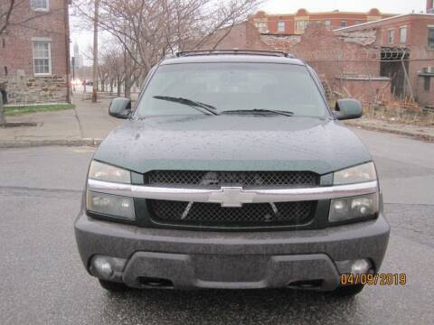 2004 Chevrolet Avalanche for sale at EBN Auto Sales in Lowell MA