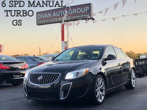 2012 Buick Regal for sale at Divan Auto Group in Feasterville PA
