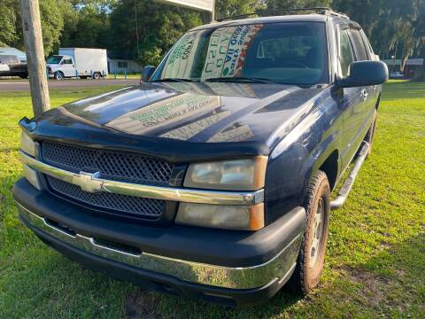 2004 Chevrolet Avalanche for sale at Carlyle Kelly in Jacksonville FL