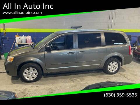2010 Dodge Grand Caravan for sale at All In Auto Inc in Addison IL