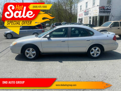 2003 Ford Taurus for sale at DND AUTO GROUP in Belvidere NJ