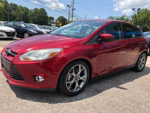 2014 Ford Focus for sale at Capital Motors in Raleigh NC