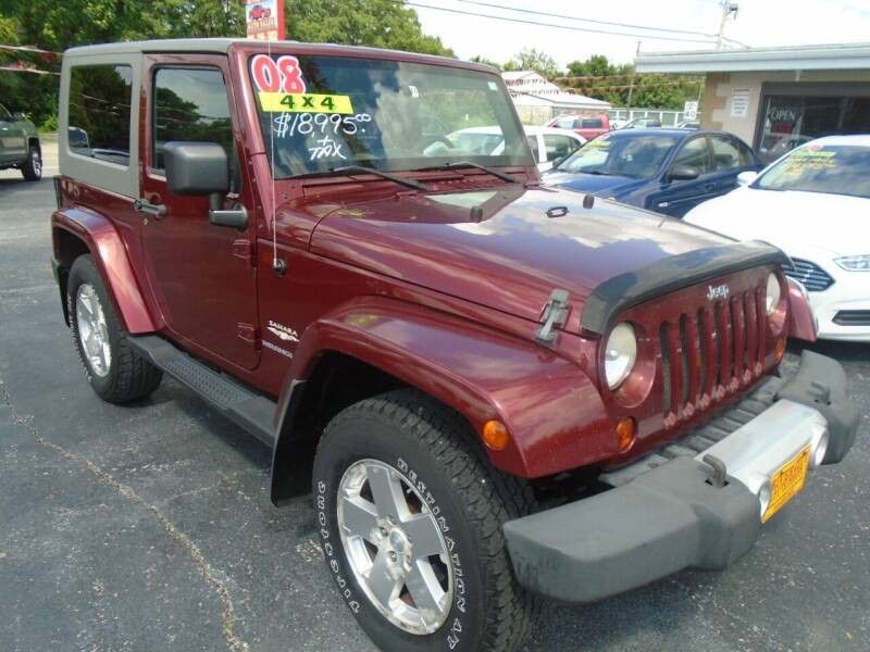 2008 Jeep Wrangler for sale at River City Auto Sales in Cottage Hills IL