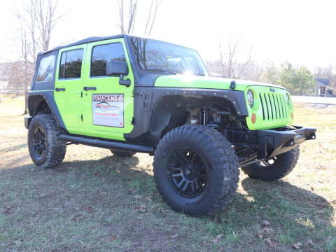 2013 Jeep Wrangler Unlimited for sale at Williams Auto Sales, LLC in Cookeville TN
