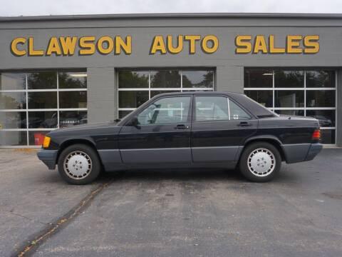1992 Mercedes-Benz 190-Class for sale at Clawson Auto Sales in Clawson MI