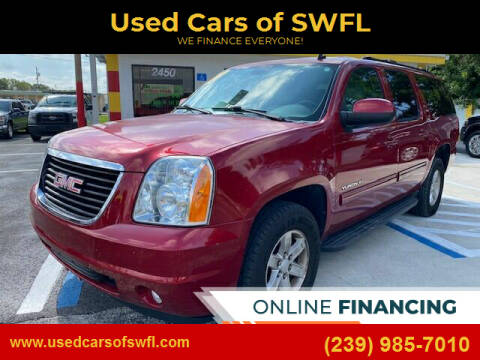 2013 GMC Yukon XL for sale at Used Cars of SWFL in Fort Myers FL