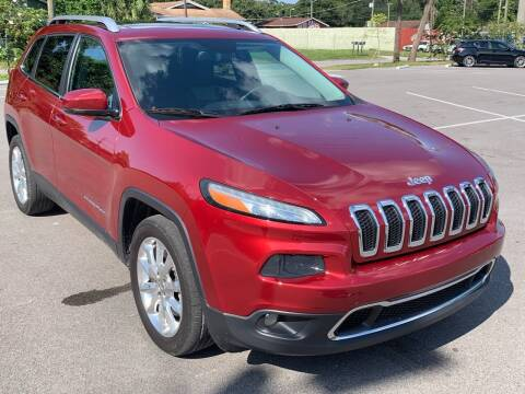 2014 Jeep Cherokee for sale at Consumer Auto Credit in Tampa FL