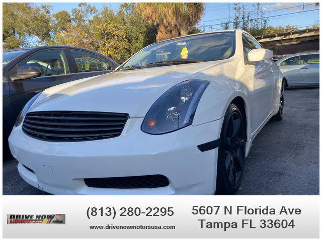 2005 Infiniti G35 for sale at Drive Now Motors USA in Tampa FL