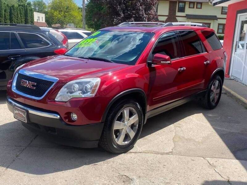 2010 GMC Acadia for sale at BROTHERS AUTO SALES in Hampton IA