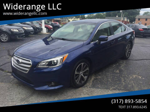 2015 Subaru Legacy for sale at Widerange LLC in Greenwood IN