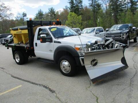 2016 Ford F-550 Super Duty for sale at MC FARLAND FORD in Exeter NH