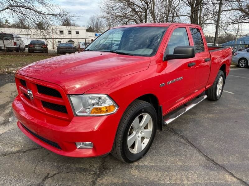 2012 RAM Ram Pickup 1500 for sale at Car Plus Auto Sales in Glenolden PA