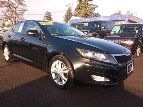 2013 Kia Optima for sale at All American Motors in Tacoma WA