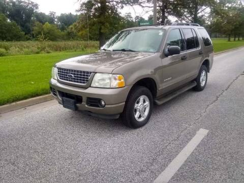2004 Ford Explorer for sale at Laurel Wholesale Motors in Laurel MD