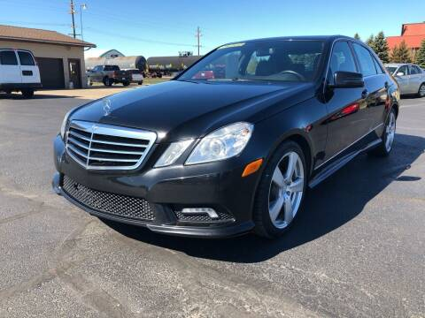 2011 Mercedes-Benz E-Class for sale at Mike's Budget Auto Sales in Cadillac MI